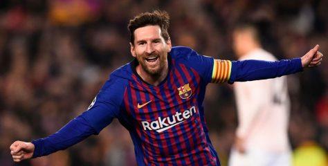 ميسي يتوج رسميا بجائزة الكرة الذهبية 2019