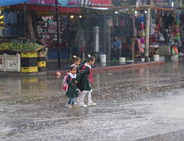 طقس فلسطين اليوم الثلاثاء وتطورات المنخفض الجوي