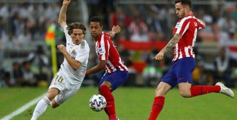 ريال مدريد يتوج بكأس السوبر الاسباني بعد فوزه على اتلتيكو
