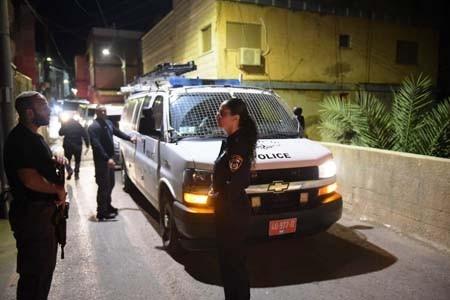 إطلاق نار تجاه دورية شرطة إسرائيلية في الطيرة