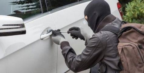 شرطة الحدود تلقي القبض بعد مطاردة على مشتبه قام بسرقة مركبة