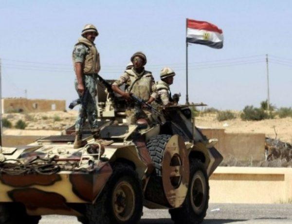 الجيش المصري يكشف تفاصيل إحباطه لهجوم مسلح شمال سيناء