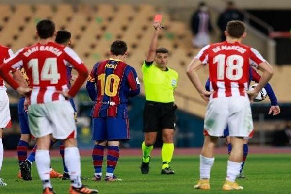 تعرّف على المدة التي سيغيبها ميسي عن برشلونة للإيقاف