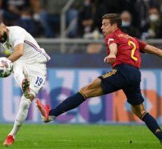 فرنسا تقهر إسبانيا وتتوج ببطولة دوري الأمم الأوروبية